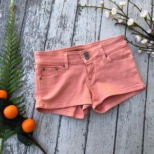 Levi's Peach Jean Shorts